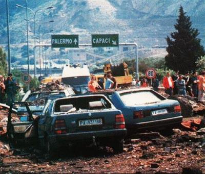 Strage di Capaci, 1992