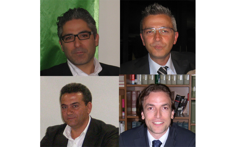 Andrea Buonaspeme, Paolo Camaioni, Francesco Tommolini e Massimo Vagnoni
