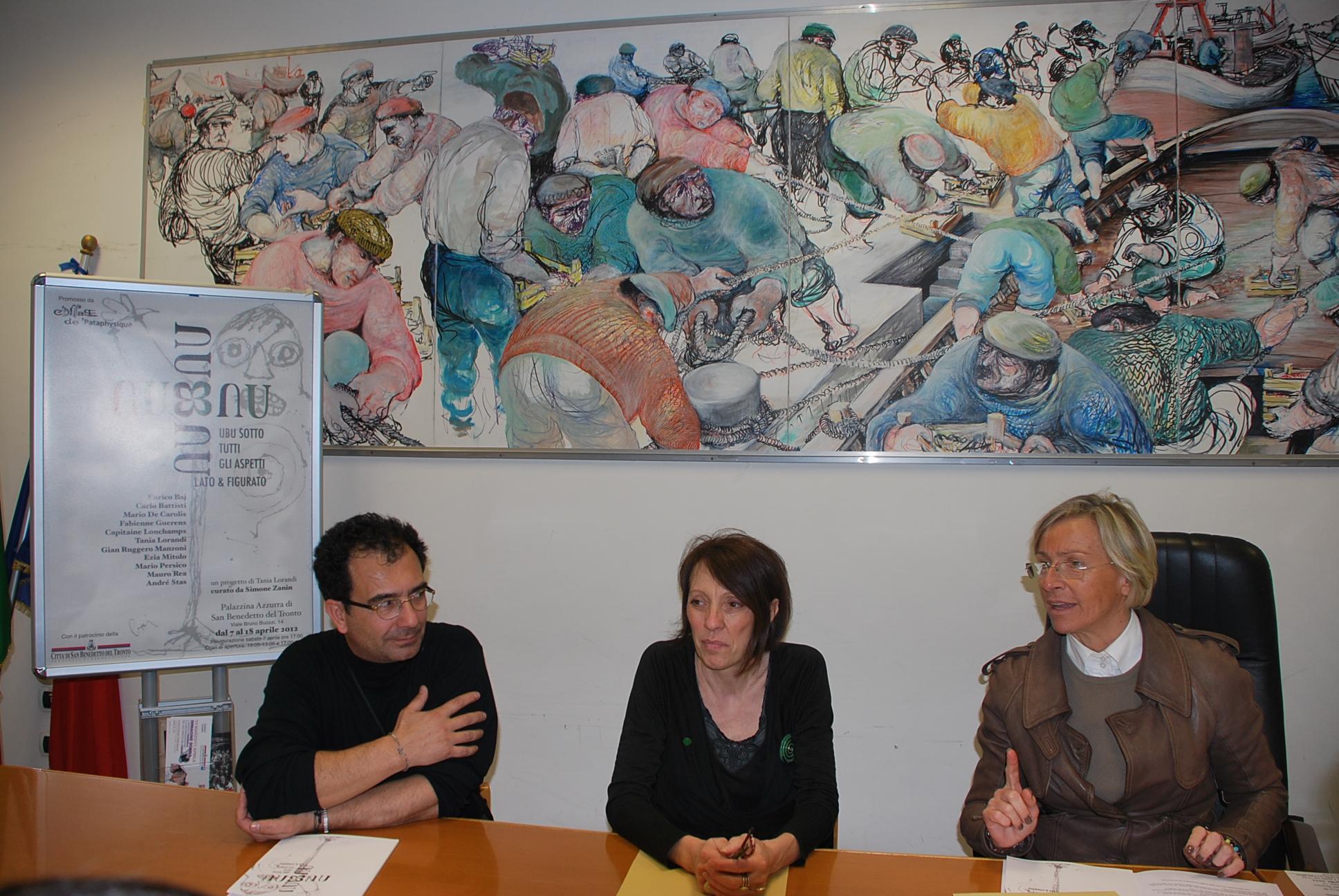 Conferenza stampa mostra Ubu
