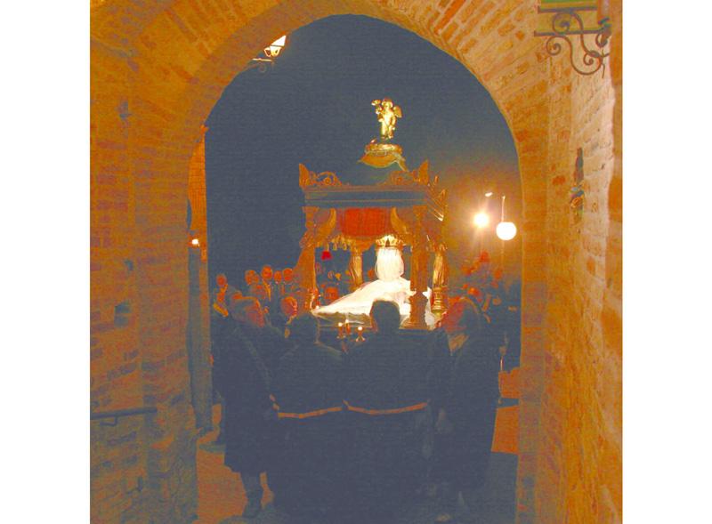 La processione del Cristo Morto a Monteprandone