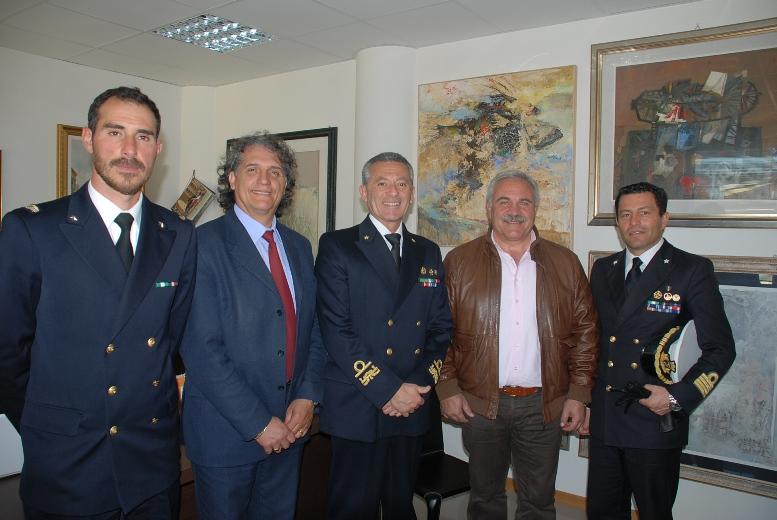 Da sinitra:  Donato Aquilano, Marino Mecozzi, Giovanni pettorino, Domecnico D'Annibali, Michele castaldo