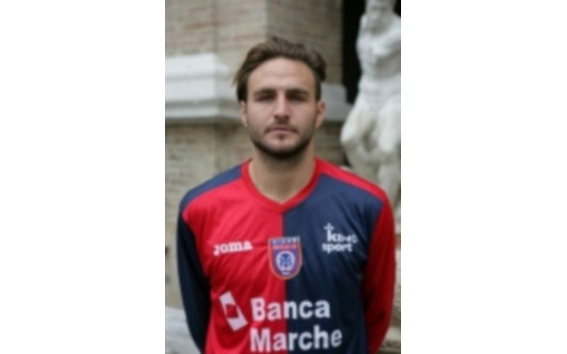 Il bomber Simoncelli, protagonista del match