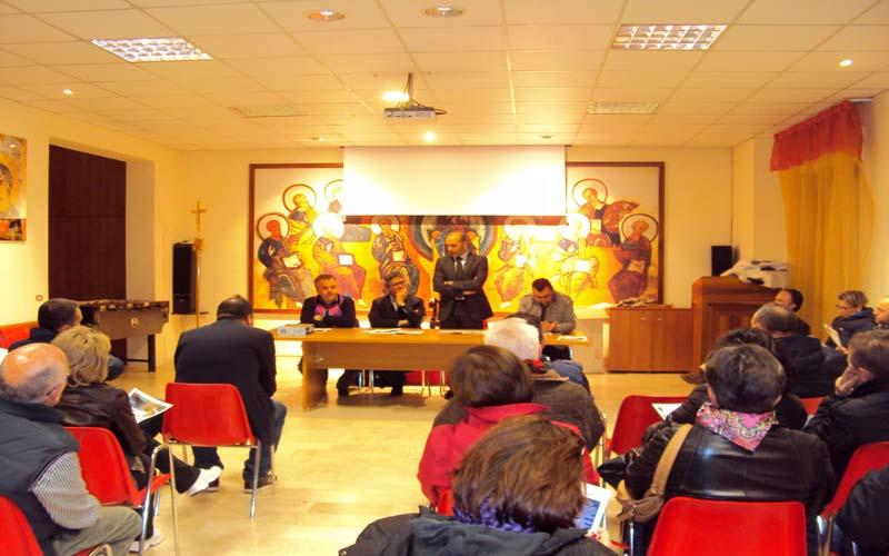 Un incontro tenutosi nel quartiere Salaria