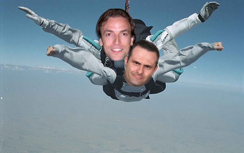 Il paracadutismo di Alduino Tommlini con Massimo Vagnoni