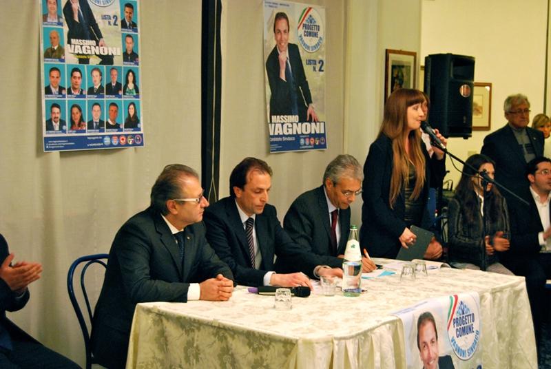 Da sinistra: Walter Catarra, Massimo Vagnoni, Gianni Chiodi