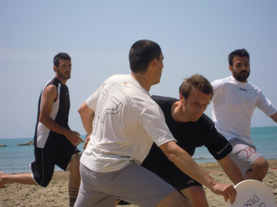 torneo di frisbee