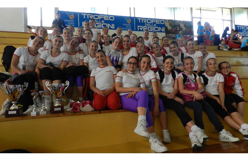 ASD Ginnastica Villa-Rosa, Allieve e JA 2012