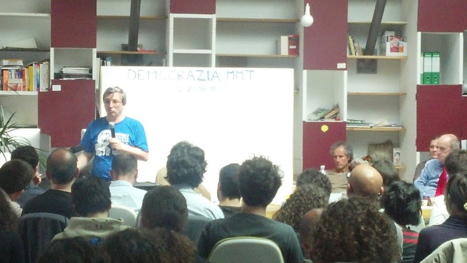 Bellofiore all'Hub Milano, seminario Democrazia MMT