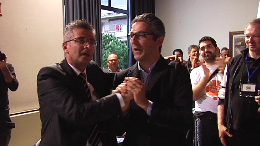 Camaioni congratulato da Buonaspeme