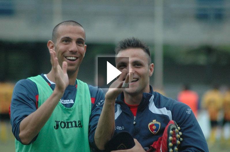 Carteri e Napolano, grandi protagonisti della stagione rossoblu (giammusso)