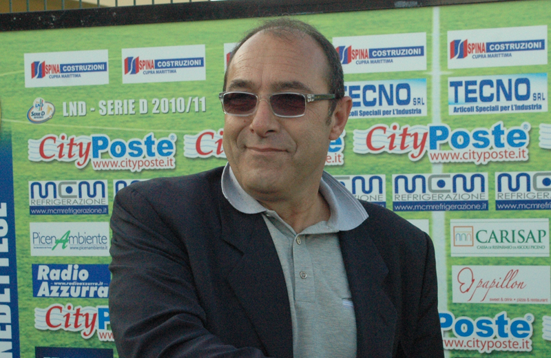 Claudio Bartolomei, vice presidente della Sambenedettese Calcio