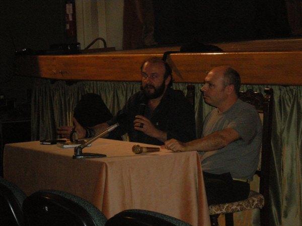 Davide Rondoni e Lucillo Santoni