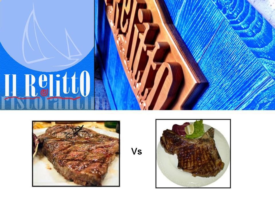 Il campionato mondiale di bistecche al ristorante