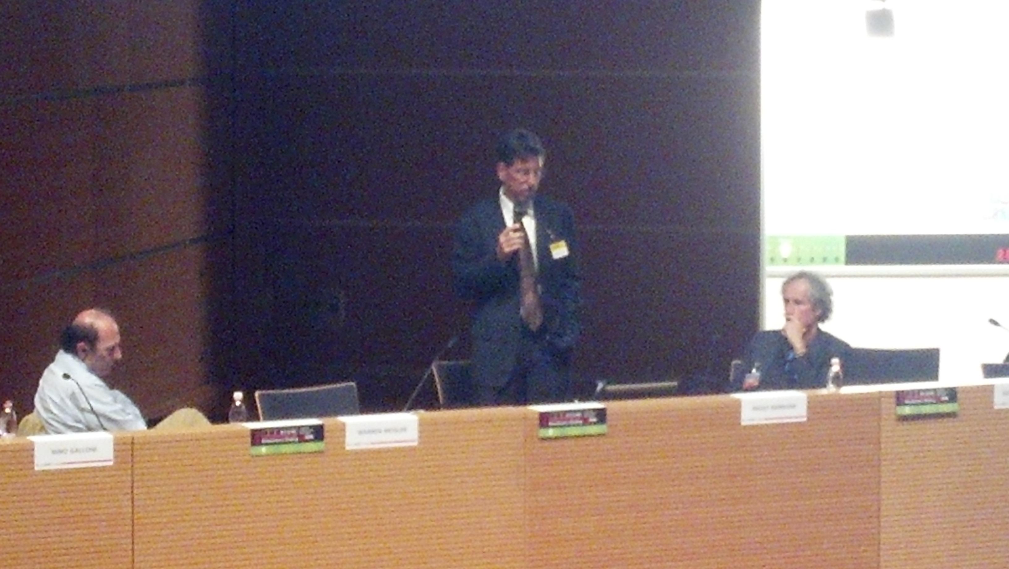 Galloni e Barnard ascoltano Mosler al Rimini IT forum