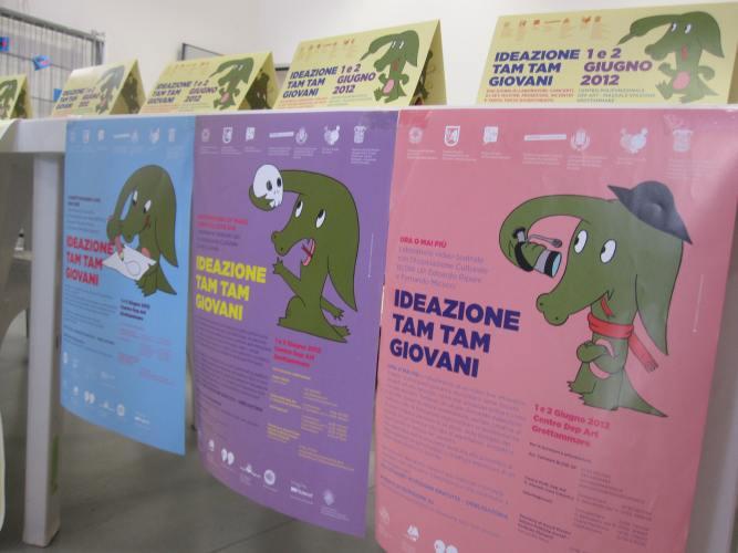 Ideazione Tam Tam, locandina evento (disegni di Maicol&Mirco)