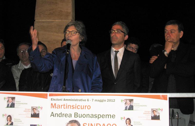 Angela Finocchiaro e Andrea Buonaspeme