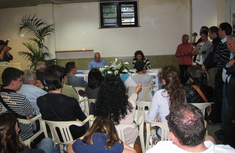 La conferenza stampa di presentazione di Martin Satira