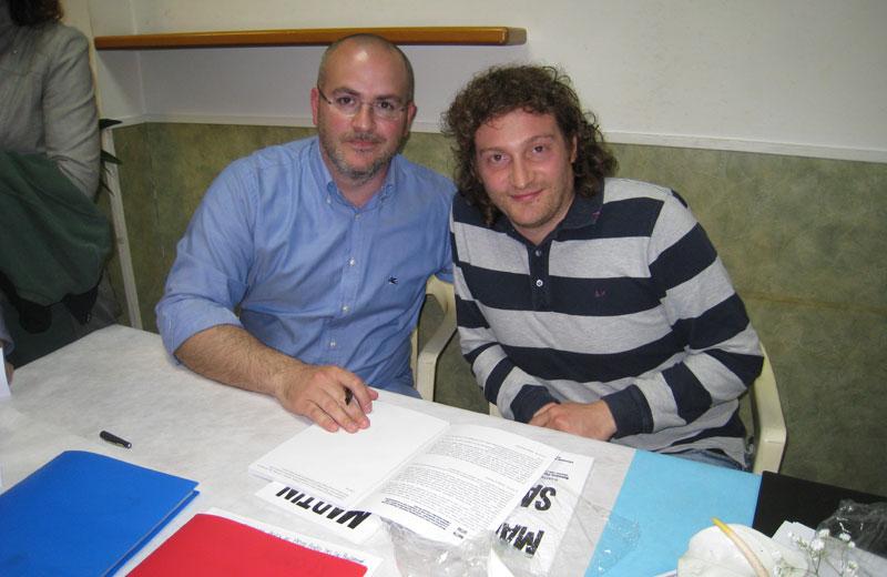Rossano Piccioni e Matteo Bianchini
