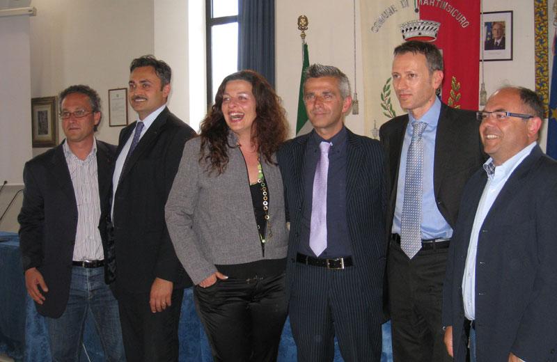 Andrea d'Ambrosio, Massimo Corsi, Debora Vallese, Paolo Camaioni, Stefano Ciapanna, Giulio Eleuteri