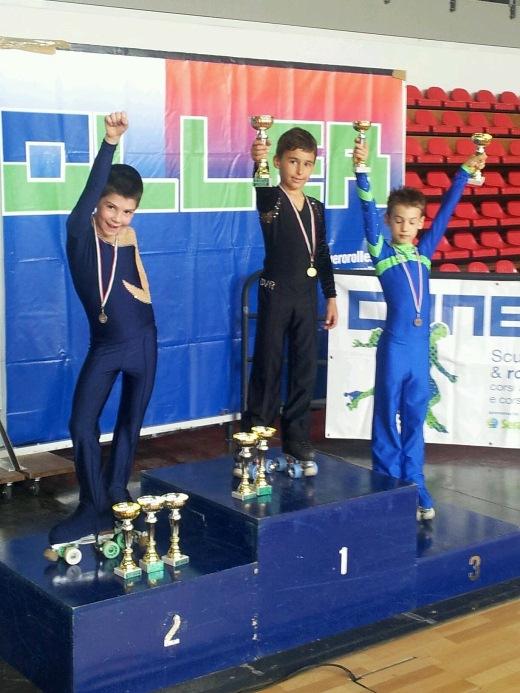 Kevin Bovara - Campione Regionale cat. Giovanissimi Maschile