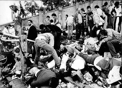 Morte allo stadio Heysel durante Juve-Liverpool, 29 maggio 1985 (curvafiladelfia.files.wordpress.com)