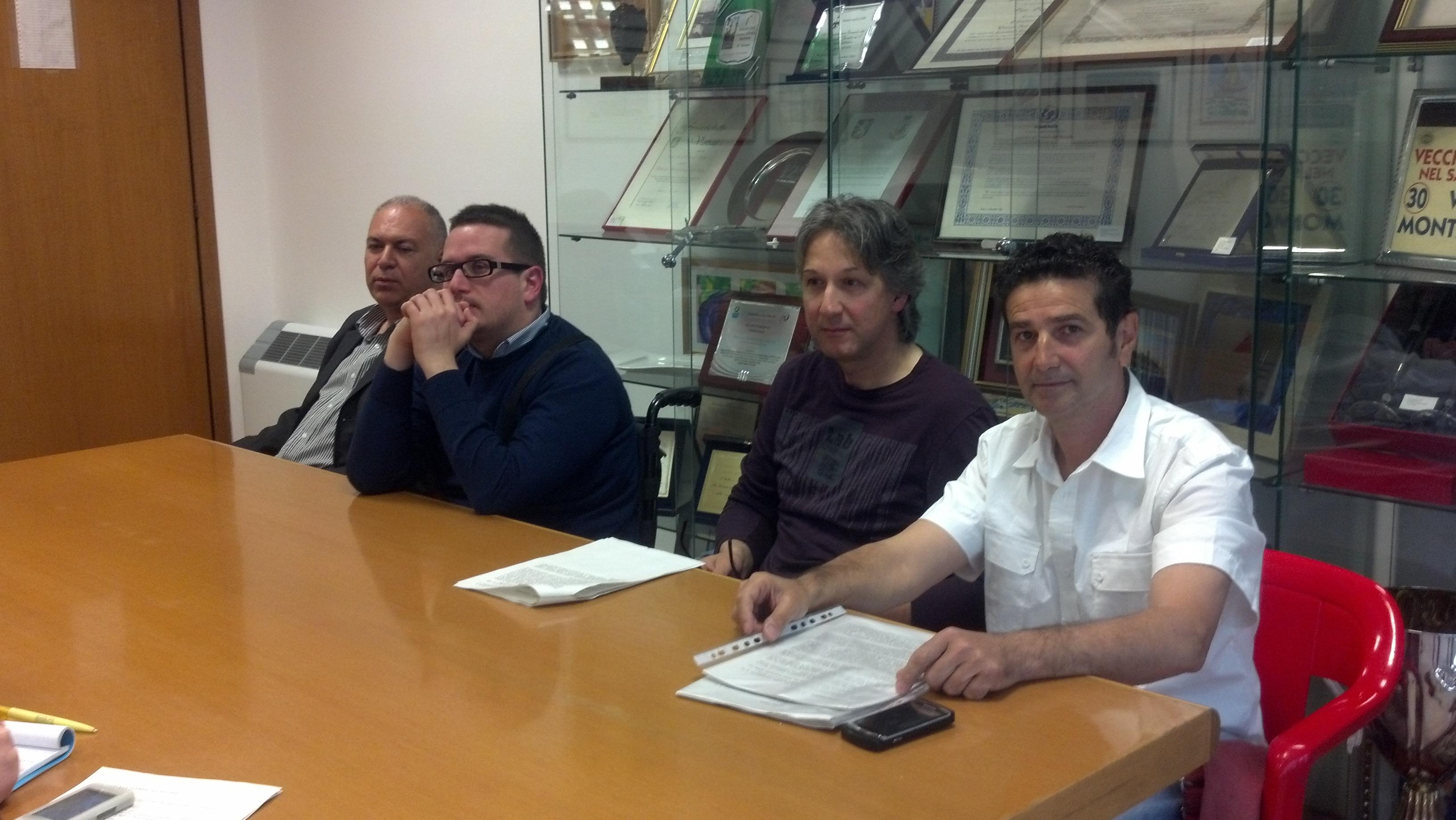 Natale Reda, Jonni Perozzi, Alfredo Vitali, Massimo Bartolozzi