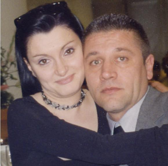 Samuela Isopi  col marito Demetrio Ferri