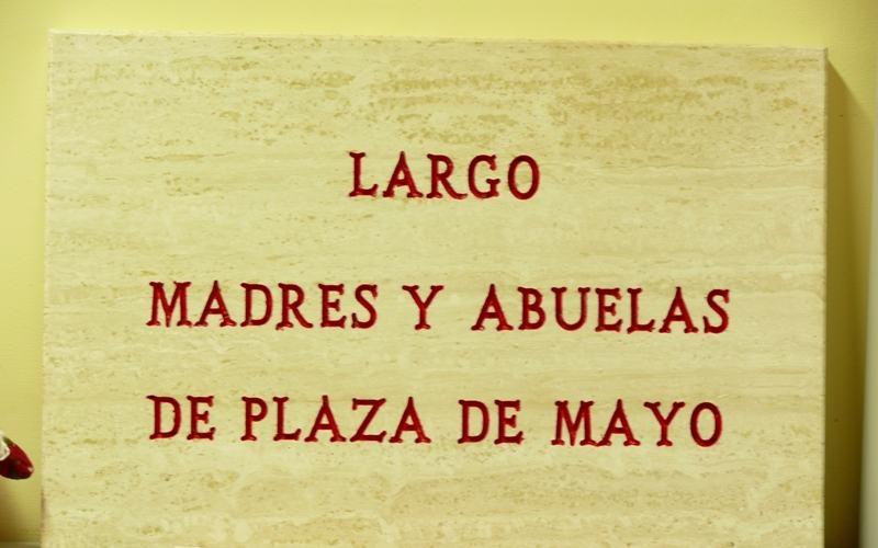 Targa del Largo Madres y Abuelas de Plaza De Mayo