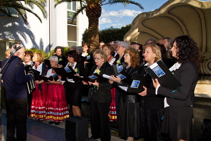 I cantori dell'Utes in Palazzina Azzurra
