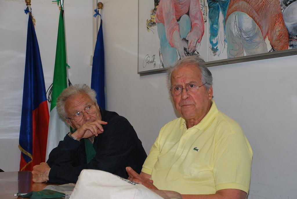 Nuccio Fava e Claudio Speranza