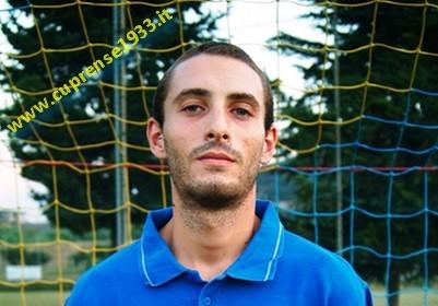 Danilo Cipolloni, autore di un'ottima prestazione