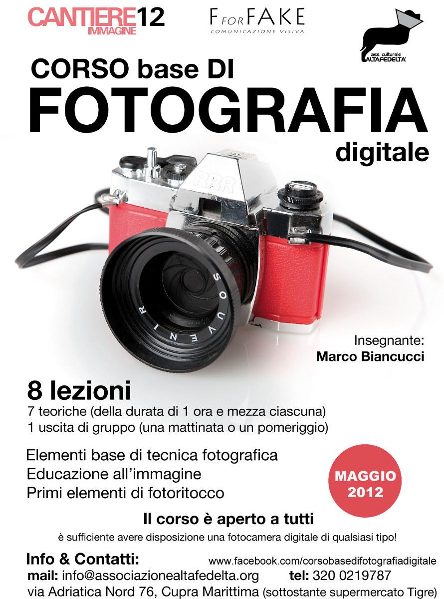 Secondo Corso di Fotografia Digitale