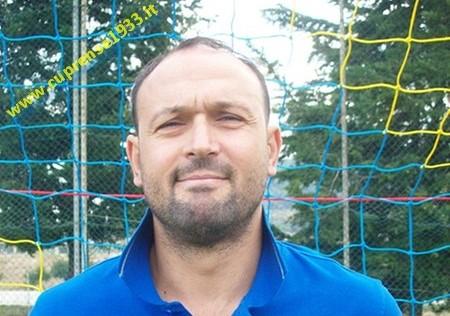 Max Fanesi, attaccante della Cuprense