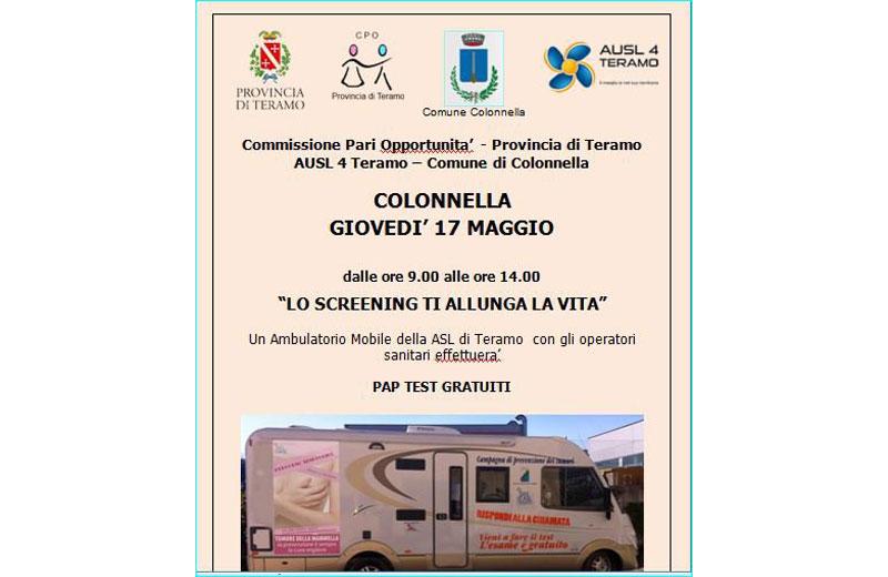 Camper rosa a Colonnella