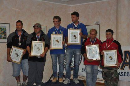 Premiazione campionati italiani 2012 di surfcasting a coppie