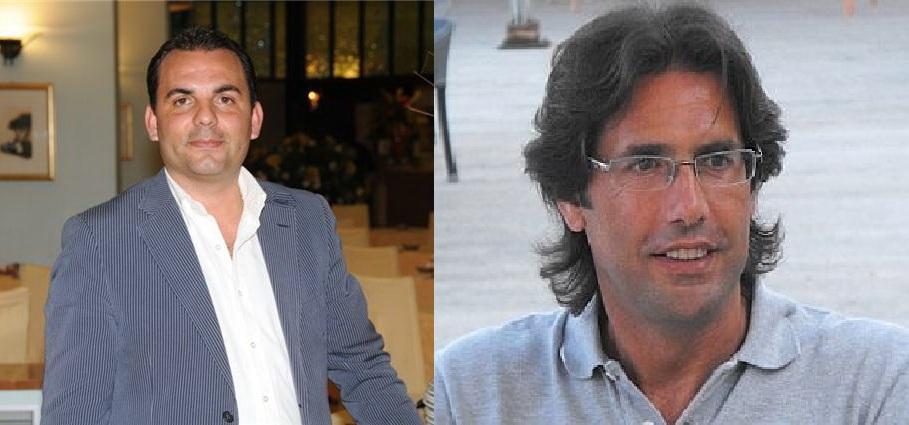 Il patron Furnari e mister Zaini: la rottura è ufficiale