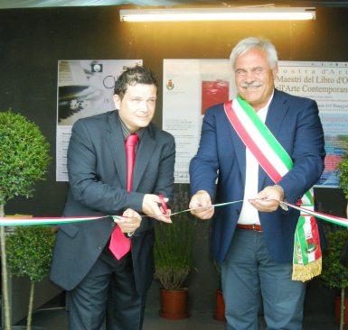 Da sinistra Pino neroni e Domenico D'Annibali Premio Cupra 2012