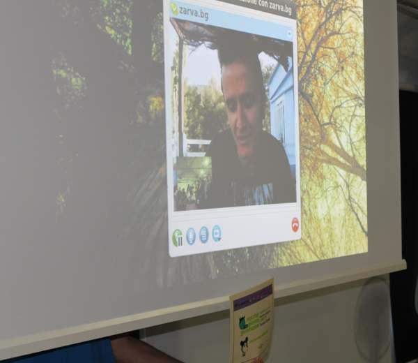 Gel, il vincitore Josè Salvador Barroso Gil premiato tramite skype-