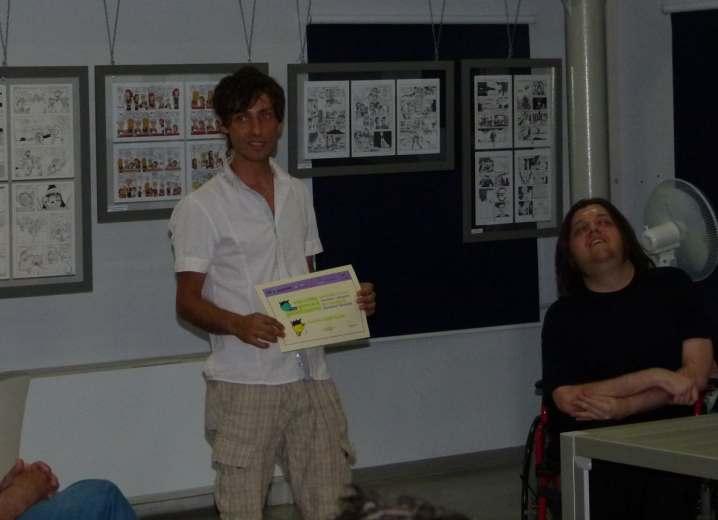 Gel, un vincitore Flavio Zampaloni
