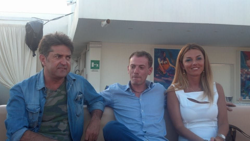 Gianni Iacoponi con Riccardo Mazzola e Patrizia Ferrara