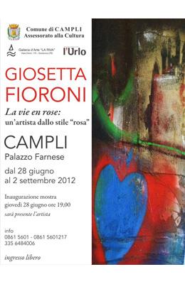 Giosetta Fioroni a Campli