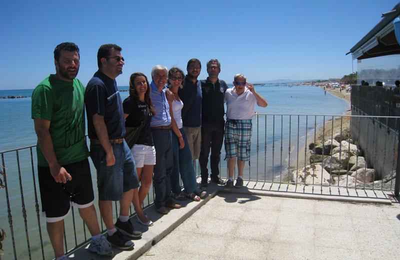 Conferenza stampa del Pd sull'erosione costiera