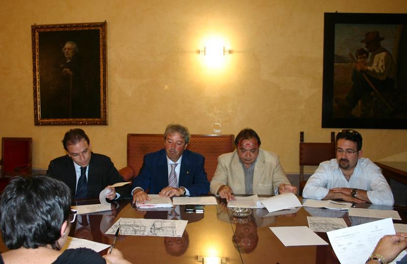 Massimo Vagnoni, Renato Rasicci, Gianfranco Giuliante, Antonio Di Tommaso