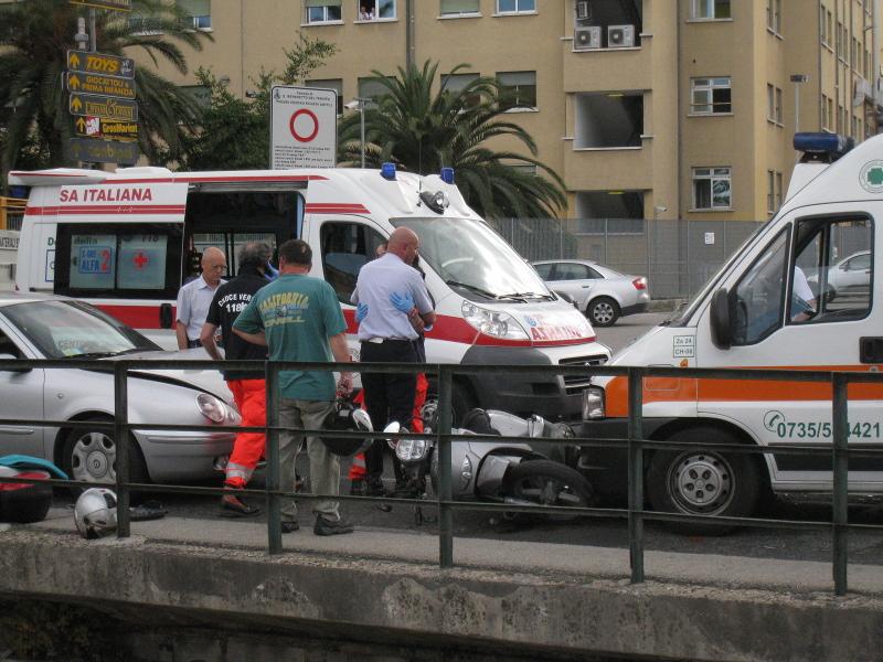 Incidente ambulanza I