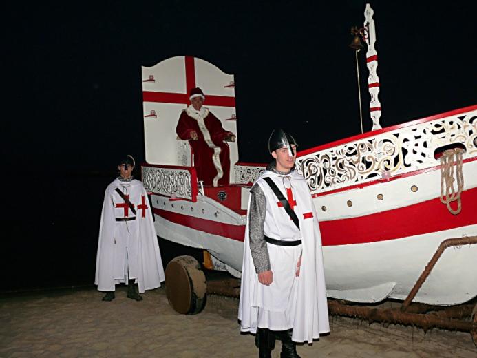 Sacra 2012 Lo sbarco del Papa Alessandro III (2)