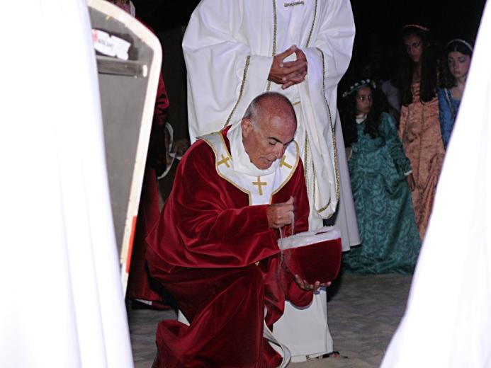 Sacra 2012 Lo sbarco del Papa Alessandro III (4)