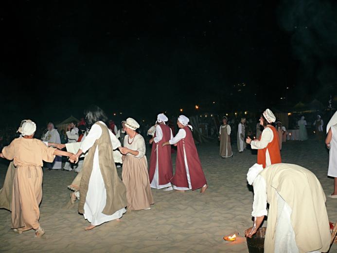 Sacra 2012 Lo sbarco del Papa Alessandro III (6)