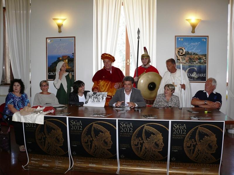 Sacra 2012 presentazione corteo e figuranti