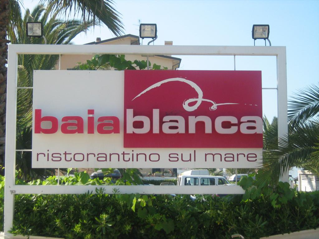 Baia Blanca ristorantino sul mare