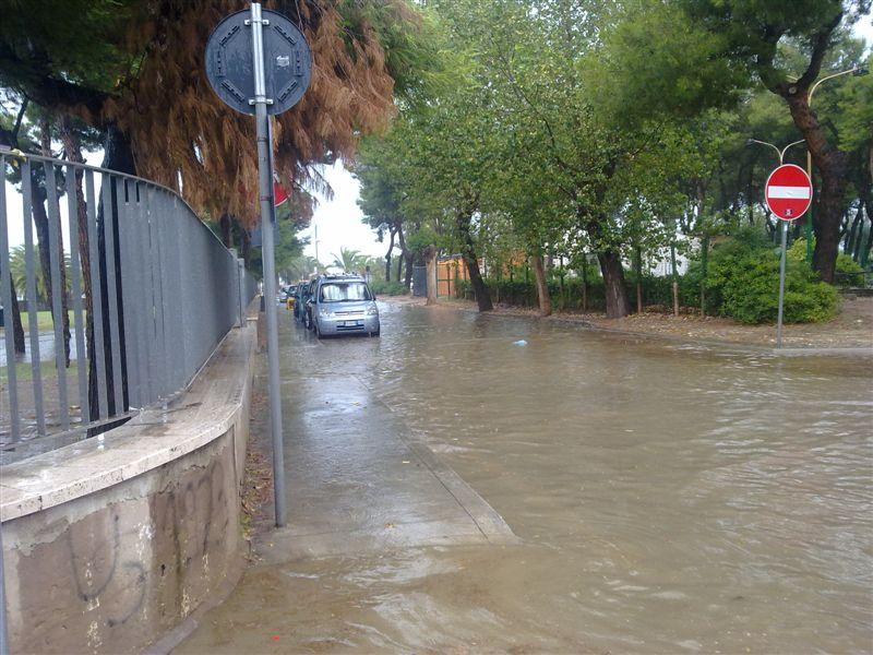 23 luglio 2012, zona Campo Europa allagata, foto Nazzareno Cecchini 1 via sforza 3